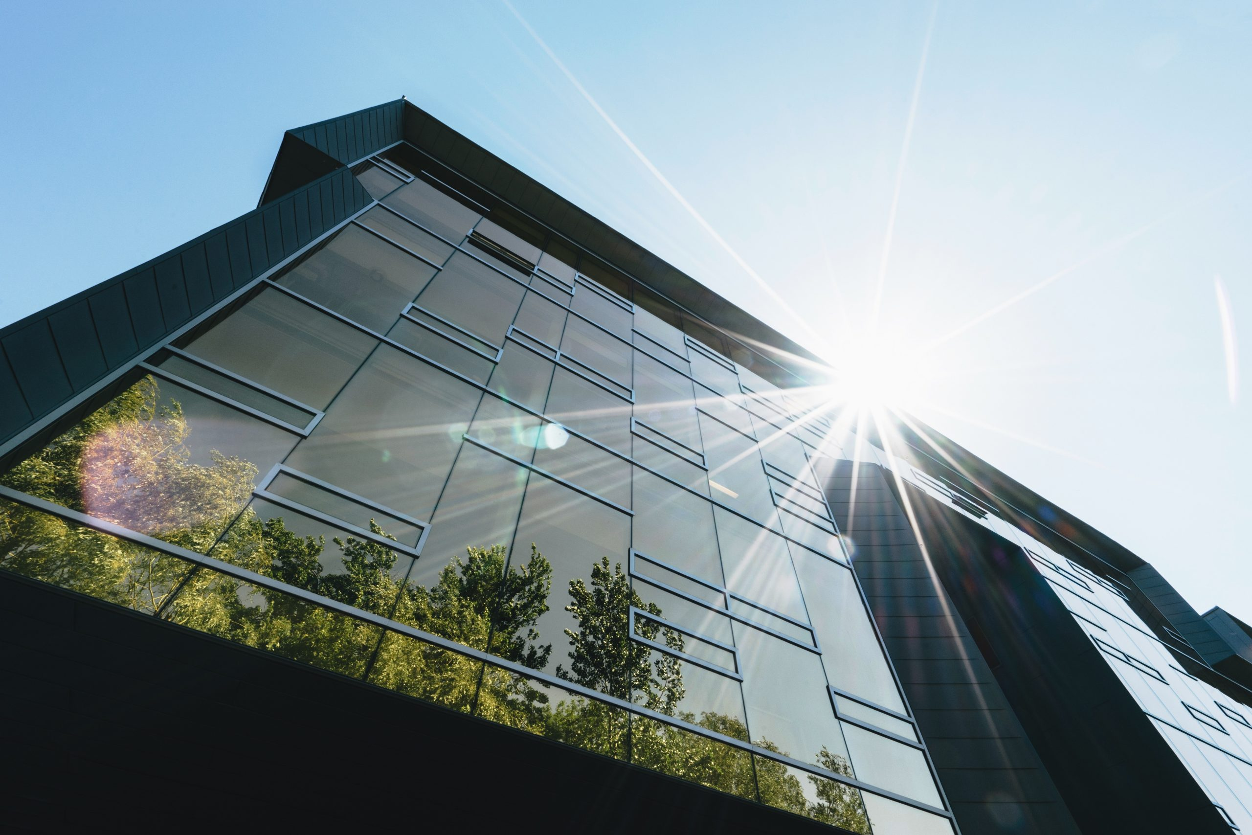 Designing a nett zero carbon rated building